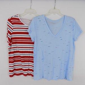 White Stag & Merona   Women's T-Shirt Bundle